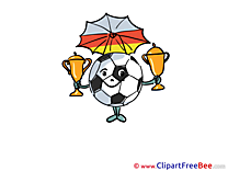 World Cup Cliparts Football for free