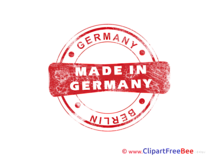 Berlin Made in Germany Stamp download Illustration