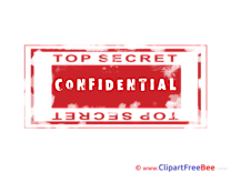 Confidential Pics Stamp free Cliparts