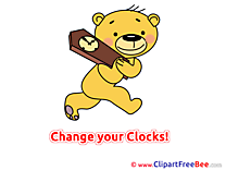 Bear Time printable Summer Images