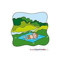 Forest Summer download Illustration
