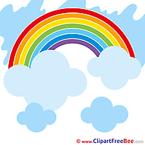 Pics Rainbow Summer free Cliparts