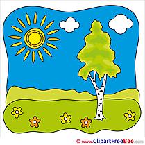 Sky Tree download Summer Illustrations
