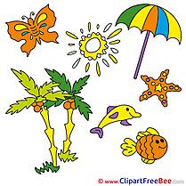 Summer download Illustration