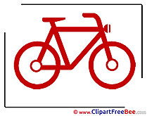 Bicycle download printable Illustrations