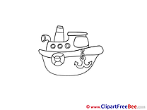 Clip Art Ship download for free