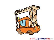 Crane download printable Illustrations