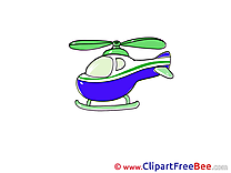 Free Cliparts for download Helicopter