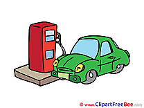 Gas Station download Clip Art for free