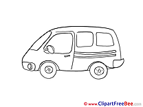 Mini Bus Pics download Illustration