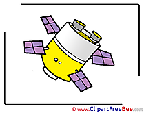 Satellite Clipart free Illustrations