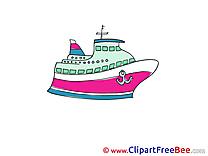 Ship free Cliparts for download