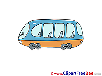 Tram Clip Art download for free
