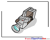 Video Camera free Cliparts for download