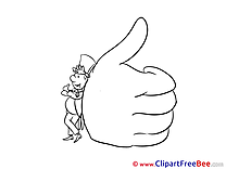 Big Hand Thumbs up Illustrations for free