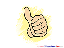 Cliparts Thumbs up for free