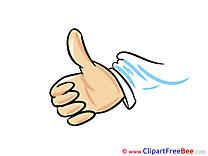 Free Illustration Thumbs up