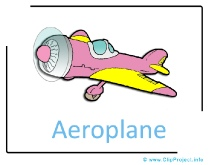 Aeroplane Clipart Picture free - Transportation Pictures free