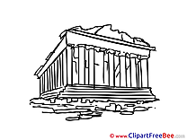 Athens Greece free Cliparts for download