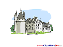 Castle Cliparts printable for free