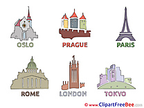 Cities World download printable Illustrations