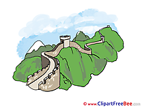 Great Wall China Clip Art download for free