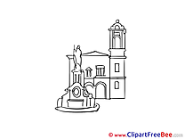 Madrid Spain printable Illustrations for free