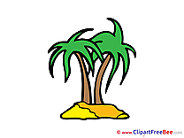 Palms Pics printable Cliparts