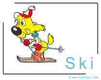 Ski Clipart Image free - Travel Clipart free