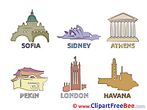 World Sights Clip Art download for free