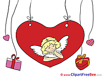 Cupid Gifts Heart free Cliparts Valentine's Day