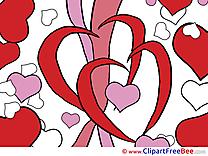 Hearts Pics Valentine's Day Illustration