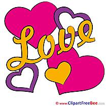 Love Clip Art download Valentine's Day