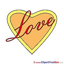 Love Heart Pics Valentine's Day free Image