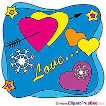 Stars Hearts Pics Valentine's Day free Cliparts