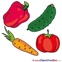 Paprika Vegatables Clip Art download for free