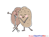 Potatoes free Cliparts for download