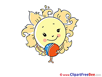 Image Ball Sun Weather Clipart free Illustrations