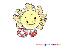 Lifebuoy Sun Weather Pics free Illustration