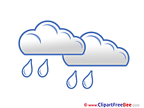 Sky Rain Clouds free Cliparts for download