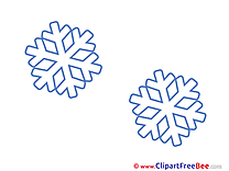 Snowflakes Images download free Cliparts