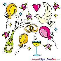 Decoration Pics Wedding free Cliparts