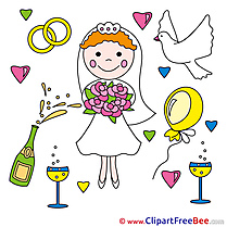 Fiancee Glasses Clipart Wedding free Images
