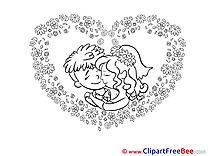 Heart download Wedding Illustrations
