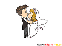 Married Couple Wedding Illustrations for free