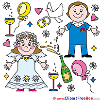 Pics Newly married Wedding free Cliparts