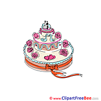 Pics Wedding Cake Illustration