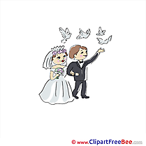 Pigeons Couple Clipart Wedding free Images