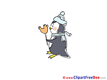 Penguin Candy download Winter Illustrations