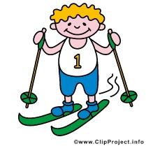 Ski Clip Art free